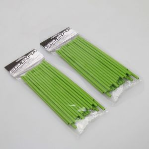 GP Pro Supermoto Spoke Coats - Green 18CM Twin Pack