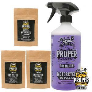 Guy Martin Proper Cleaner Bottle & Refill Capsules - 4.5 Litre