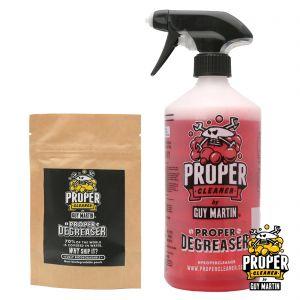 Guy Martin Proper Degreaser - Trigger Bottle & 2x Refill Capsules