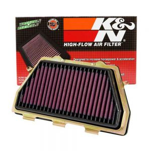 K&N Reusable High-Flow Performance Air Filter - HA-1008