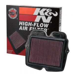 K&N Reusable High-Flow Performance Air Filter - HA-1110