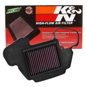 K&N Reusable High-Flow Performance Air Filter - HA-1313