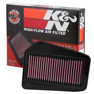 K&N Reusable High-Flow Performance Air Filter - HA-1502
