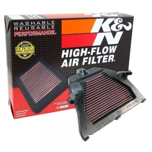 K&N Reusable High-Flow Performance Air Filter - HA-6003