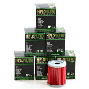 Hiflo HF132 Oil Filter X 6