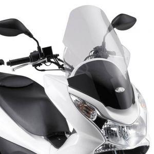 Kappa Transparent High Scooter Screen 59.5cm - Honda PCX 125 10-13  150 10-13