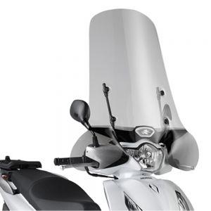 Kappa Transparent High Scooter Screen 72cm - Honda SH 125i/150i 12-19