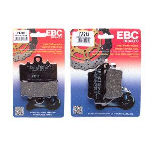 EBC Complete Front and Rear Organic Brake Pad Kit BMW G310 16-19 FA606 FA213