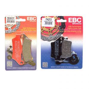 EBC Complete Organic Brake Pad Kit Royal Enfield Himalayan 16-19 FA181TT FA213