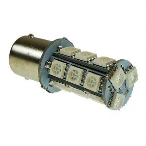 Replacement 1156 18 Yellow LED Tail, Brake , Indicator Light Bulb