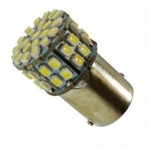 Replacement 1156 50 White LED Tail, Brake, Indicator Light Bulb
