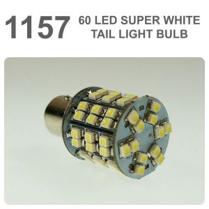 Replacement 380/ 1157 60 White LED Tail, Brake, Indicator Light Bulb