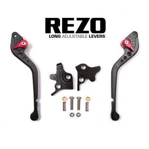 REZO Aprilia / Moto Guzzi Models Adjustable Long Brake Clutch Lever
