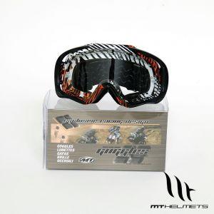 MT MX Pro III Goggles - Orange