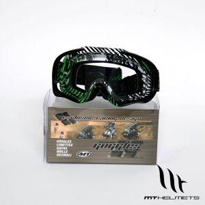 MT MX Pro III Goggles - Green