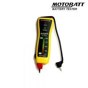 MB-VM Motobatt 12V Pocket Voltmeter And Altenator Tester