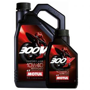 Motul 10W40 4T - 300V Factory Line Engine Oil