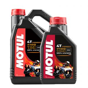 Motul 10W40 4T - 7100 Engine Oil