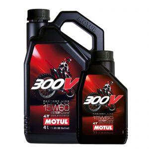 Motul 15W60 4T - 300V Off Road Engine Oil