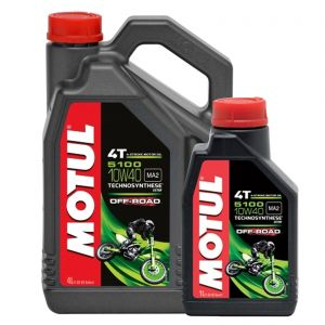 Motul 10W40 4T - 5100 Off Road Engine Oil