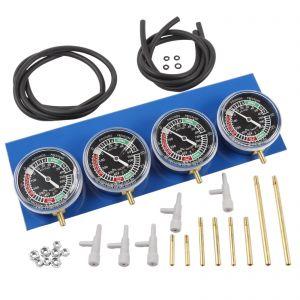 Carburettor Vacuum Balancer Gauge 2/4 Cylinder Kit