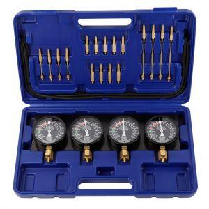 Carburettor Vacuum Balancer Gauge 2/4 Cylinder Kit & Case