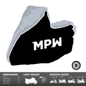 MPW Waterproof Moped Scooter Outdoor Rain / Dust Cover - Small