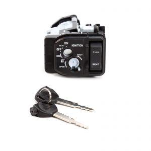 Ignition Barrel Lock Keys Set for Honda PCX 14-17
