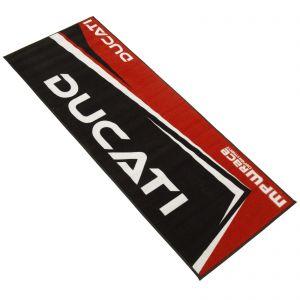 MPW Race Dept Non-slip 200x75cm Garage Workshop Mat Ducati - Red