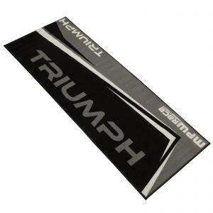 MPW Race Dept Non-slip 200x75cm Garage Workshop Mat Triumph - Grey