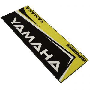 MPW Race Dept Non-slip 200x75cm Garage Workshop Mat Yamaha - Yellow