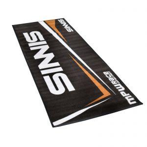 MPW Race Dept Non-slip 200x75cm Garage Workshop Mat Sinnis - Black