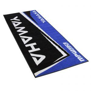 MPW Race Dept Non-slip 200x75cm Garage Workshop Mat Yamaha - Blue