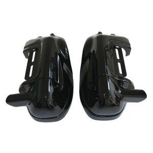 Lower Vented Fairing Glove Box - Harley-Davidson Road King Models 00-13