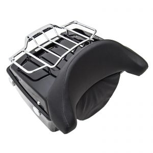 Luggage Rack And Top Box with Backrest - Harley-Davidson Touring Models 00-13