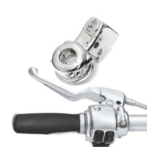 Clutch Lever Perch Bracket - Harley Electra Touring Dyna Softail Sportster - Chrome