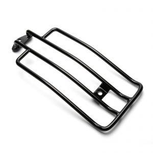 Black Solo Seat Luggage Rack - 883cc/1200cc Harley-Davidson sportster models
