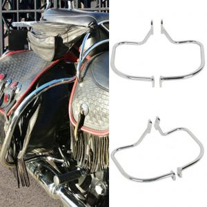 Chrome Rear Saddlebag Guard - Harley Softail Heritage Springer FLSTS 97-99