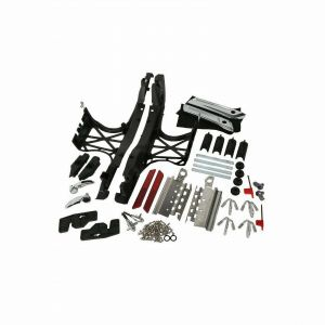 Hard Saddlebag Latch Lid Hardware Covers - Harley-Davidson Touring 14-20