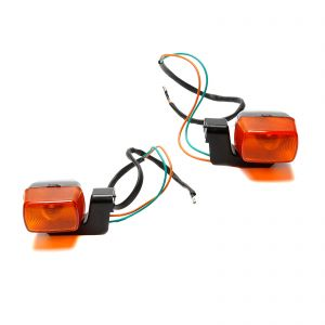 Amber Front or Rear Indicators (Pair) - CBR 400RR NC23 / 250RR MC19