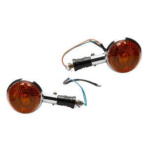 Amber Front or Rear Indicators (Pair) - Yamaha V-Max 1200 XVS 400 650 V-star