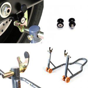 Honda Rear Paddock Stand & 8mm Bobbins, Honda CBR1000RR 04-16