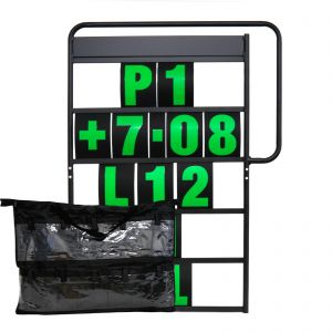 MPW Race Dept 100cm x 65cm Complete 5 Row Pit Board Kit - Green