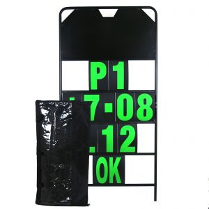 MPW Race Dept 150cm x 75cm Complete 4 Row Pit Board Kit - Green