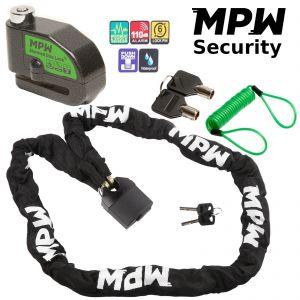 MPW Chain Lock & Disc Lock + Reminder 1.5M