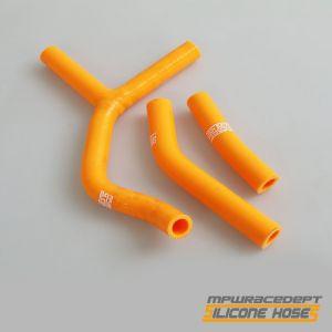 KTM 250SX 2001-2006 MPW Race Dept 3 Piece Silicone Hose Kit Orange