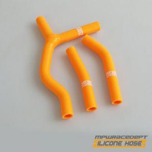 KTM 125SX, 200SX 2003-2006 MPW Race Dept 3 Piece Silicone Hose Kit Orange
