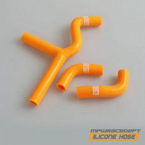 KTM 450SX, 525SX 2001-2006 MPW Race Dept 3 Piece Silicone Hose Kit Orange