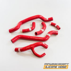 Ducati 1098 2007-2009 MPW Race Dept 6 Piece Silicone Hose Kit Red