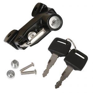 Aluminium Helmet Lock Including 2 Keys - Ducati Scrambler 400/800